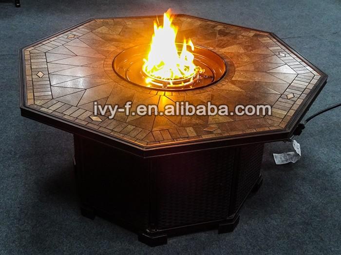 Pozo De Fuego Muebles/metal Fuego Diseños/tabla Fogón Con Azulejos ...