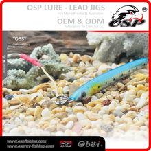 60G 150MM lead metal jigging OSP Lead JIGS lure artificial fish lures TOBBY 2012-2