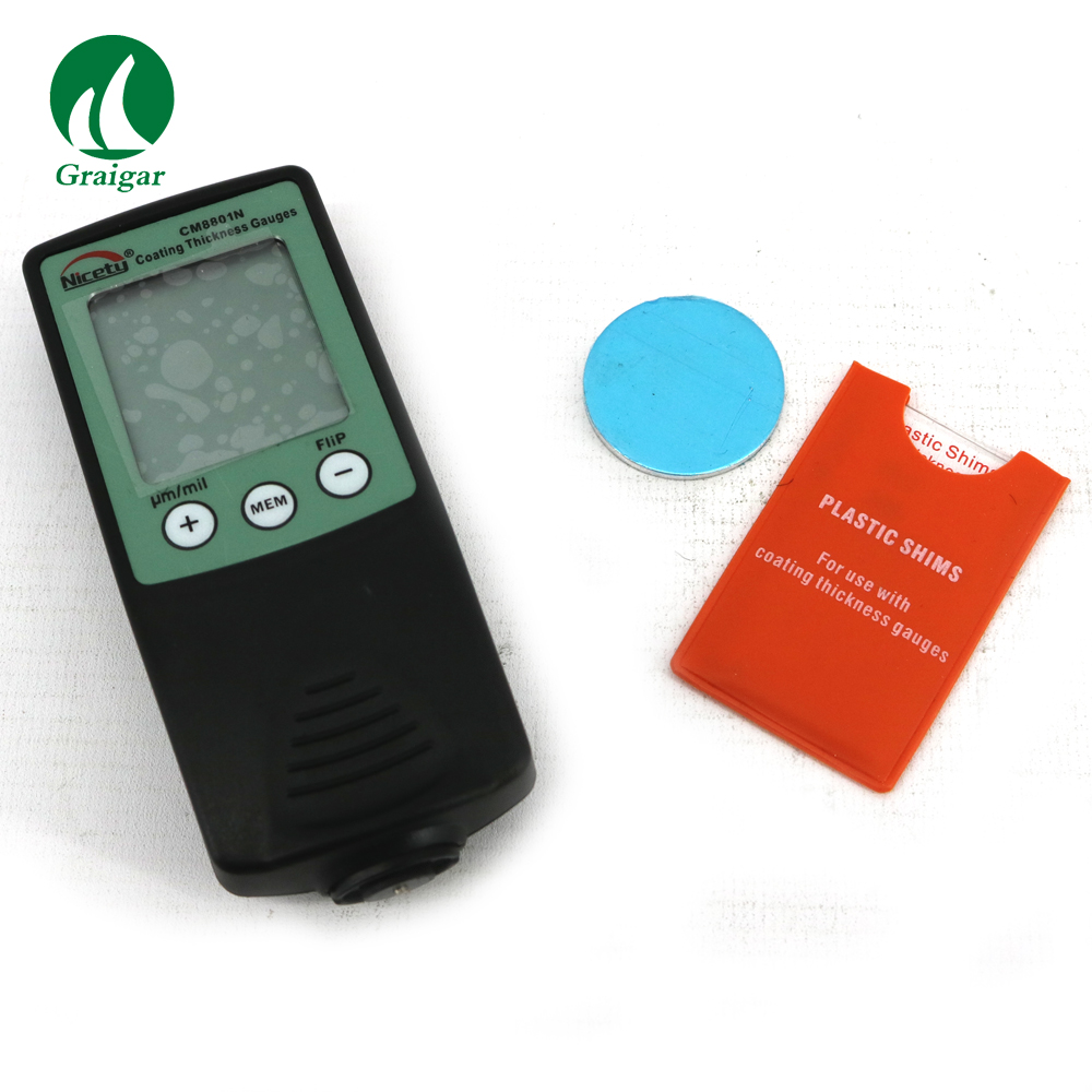 CM8801N Coating <strong>Thickness</strong> Gauge 0~1000um for non-ferrous metals Free Shipping