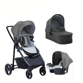 New Arrival Baby Stroller 3 In 1 Travel System With Car Seat Light Weight