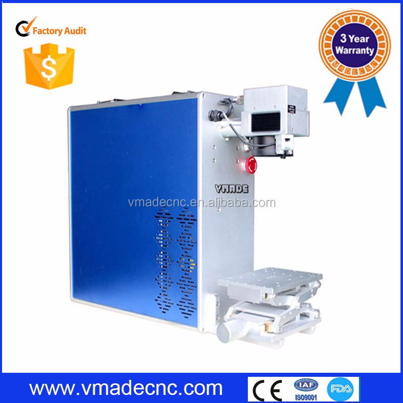 2016 desktop New style smell Fiber Laser Marking Machine for Iron and metal