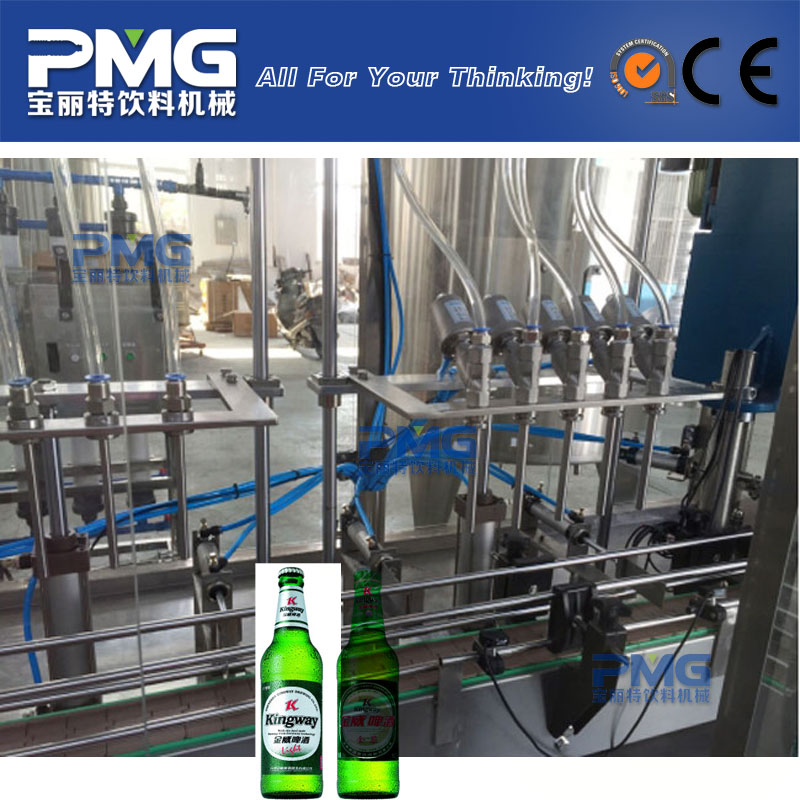 manual bottle filling machine / manual beer bottling equipment