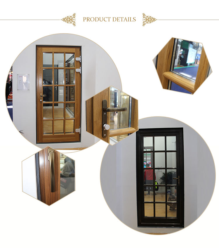 WIND  copper clad wood sliding casement window and door