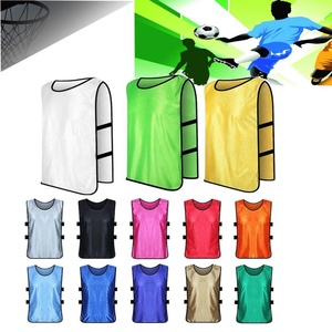 Factory Sleeveless Soccer Training Team Vest Football Jerseys Sports Shirts Adults