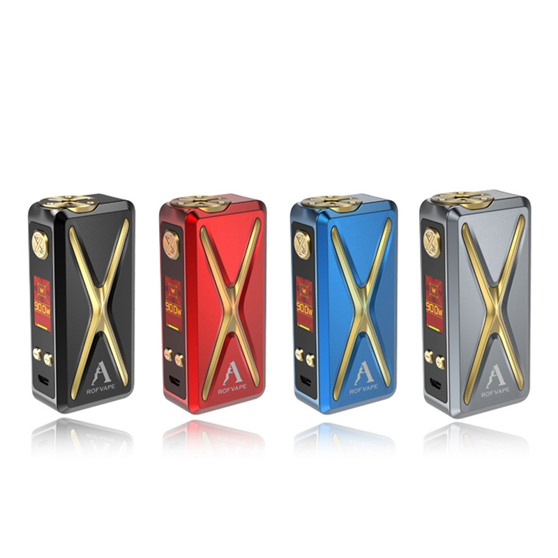 Seeking agency ! New coming X ER 90w 2ml Color OLED Screen free vape mods factory price