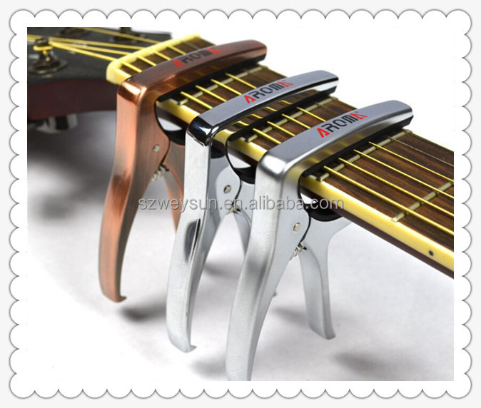 Classic Tune Quick Change Clamp Key Capo For Electric Guitar Parts