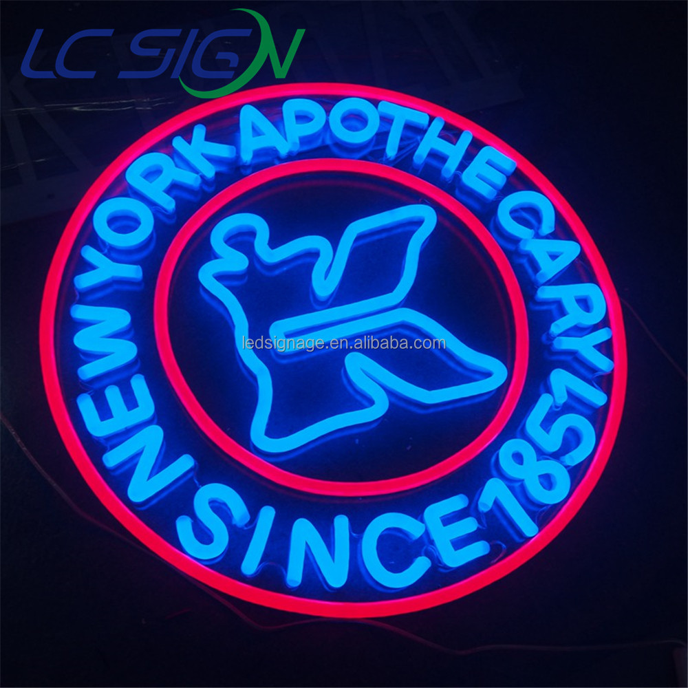 factory custom made commercial advertising neon letters store display led neon business signs