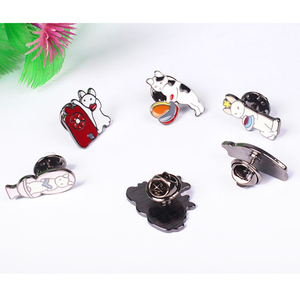 LOVECCA custom label pin cute animal enamel pins stock quantity available for sale