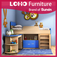 Kids furniture, childrens bunk beds, bunk bed with ladder