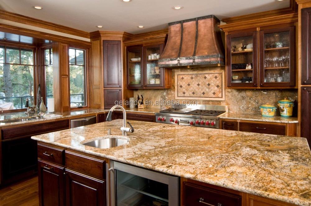Ingeniería de piedra de cuarzo blanco cocina encimeras para cocinas ...