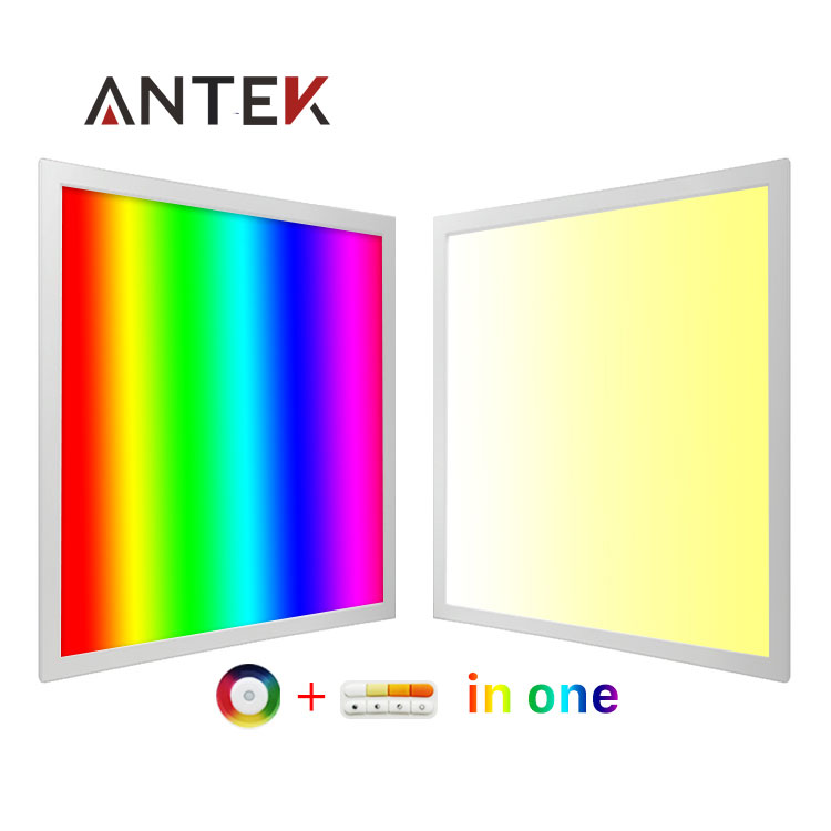 2.4 Ghz/DMX/controllo Wifi 300x1200 600x600 620x620 600x1200mm RGB/CCT/RGBWW led light panel