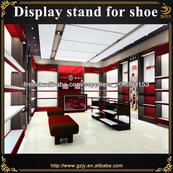 5b07f49db0b904 étagère à chaussures meubles de présentation pour magasin de chaussures