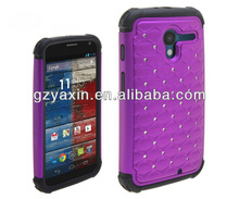 Hot fashion wholesale bling case for motorola xt1060 case