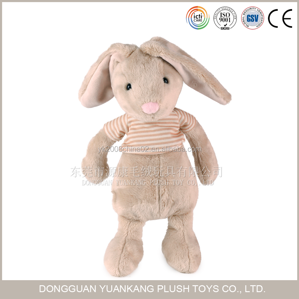 Wholesale Cute Bunny Plush Rabbit Toys Stuffed Animal for Kids
