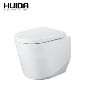 HUIDA China supplier bathroom sanitary ware two piece back to wall toilet