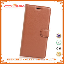 Elegant Mobile Phone Flip Cover Handmade Leather wallet Case With Card Pocket