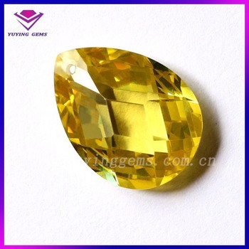 Yellow Topaz Ky105 Gemstone Prices 6*8mm Pear Cut Gemstones Glass Gems  Crystals Stones - Buy Glass Gems,Yellow Topaz Gemstone Price,Crystals  Stones