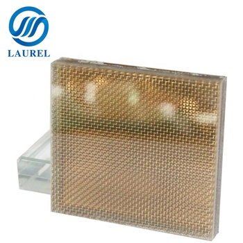 1 inch thick art laminated glass decorative fabric for laminated glass