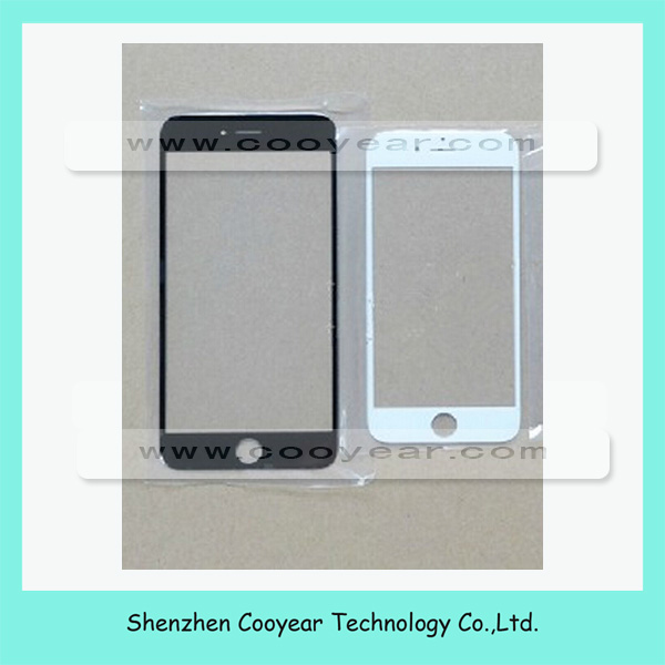 Front touch screen glass lens replacement for iphone 6 front glass panel