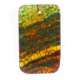 Natural gem crafts yellow rectangular agate stone pieces pendant wholesale