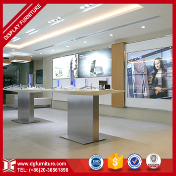 Fashion Interior Design Retail Mobile Shop Decoration