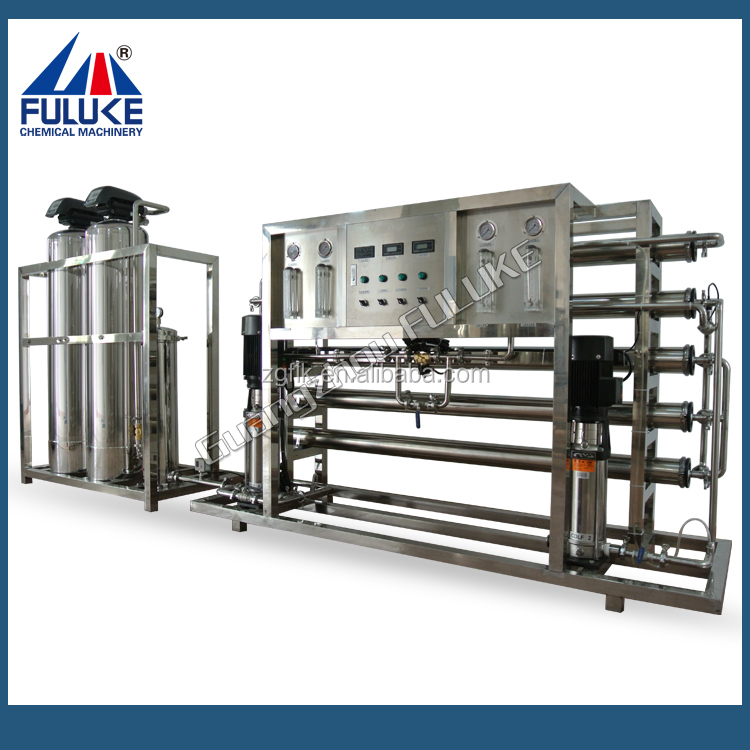 High desalting rate FRO Semi-auto water Purifying Machine for lotion