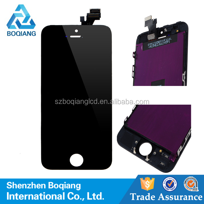 Repair Parts For Apple Iphone 5 Front Glass Replacement