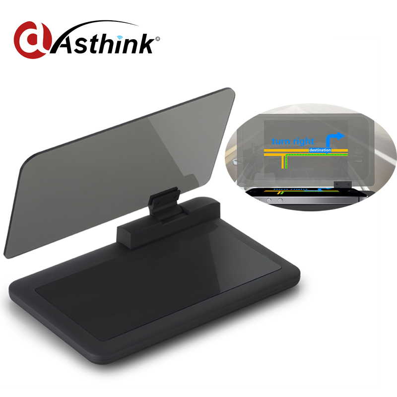 Smart phone holder hud projector with CE certificate