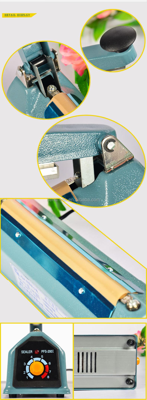 Handy Tea Food Bag Heat Sealer Machine For Plastic Bag