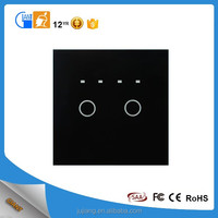 Giant 2Gang 1way Timer Touch Switch Timer Switch European Wall Switch