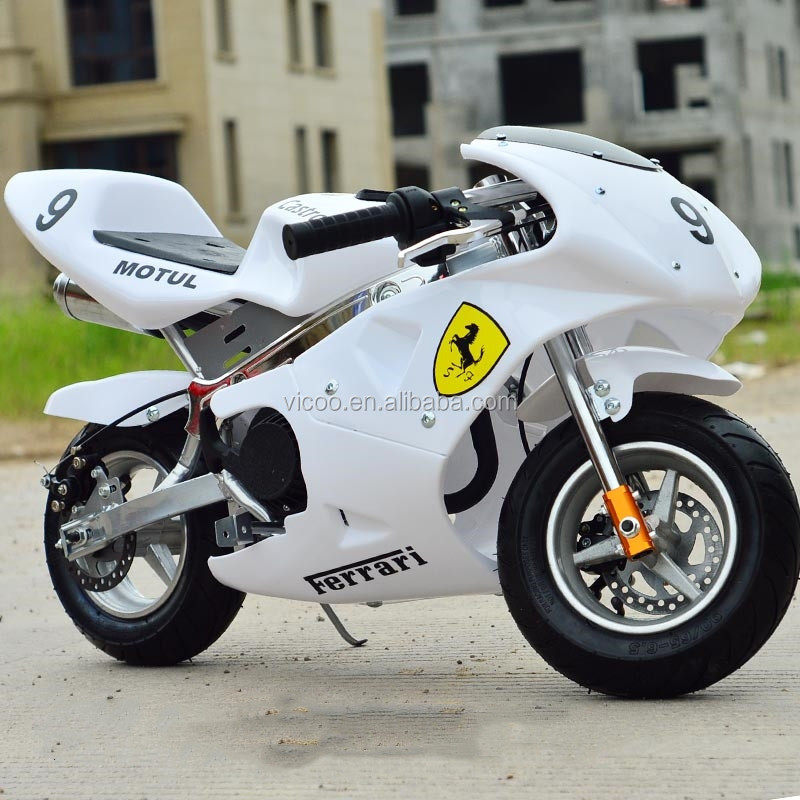 Hot Sales 2 Stroke 49CC Mini Moto Gas Pocket Bike for Kids