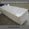 White Acrylic Solid Surface Sheets Professional Manufacturer