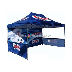 Cheap square waterproof commercial steel pop up Folding tent