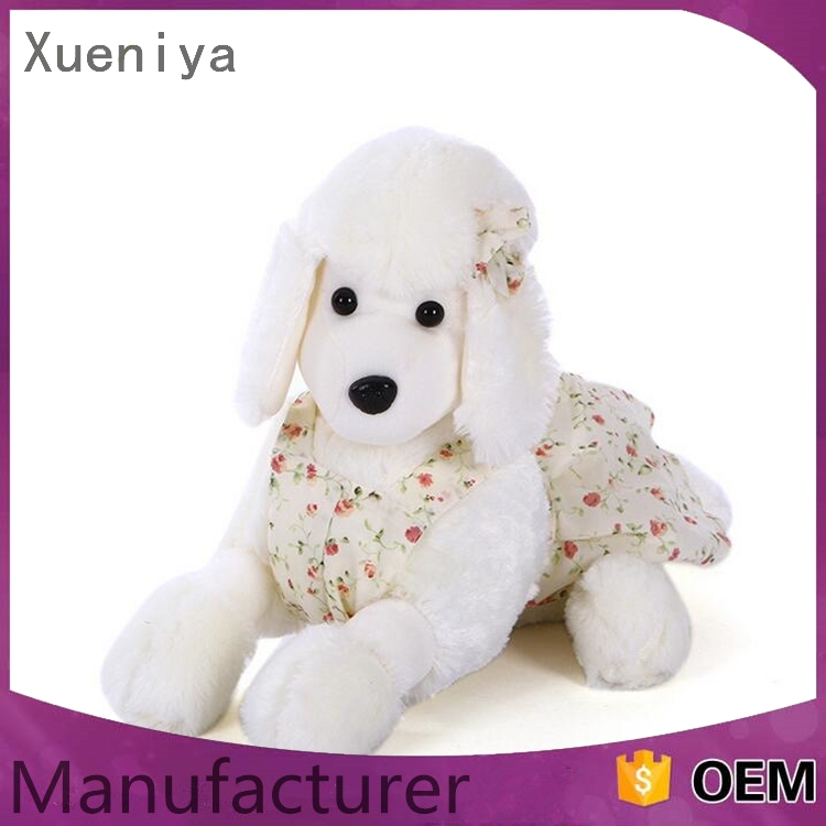 luxury custom china factory oem soft plush small maltese dog toy
