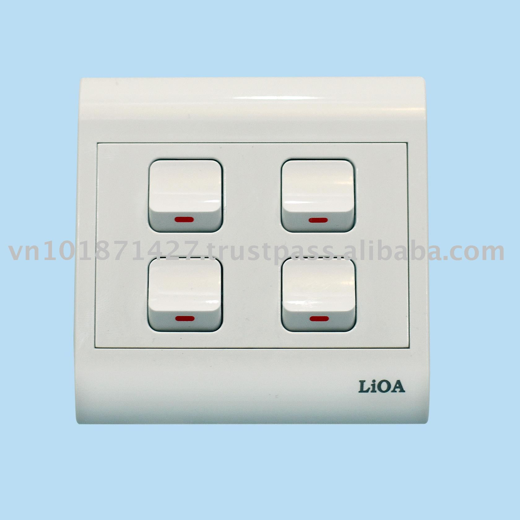 Lioa Wall Switch, Lioa Wall Switch Suppliers and Manufacturers at ...