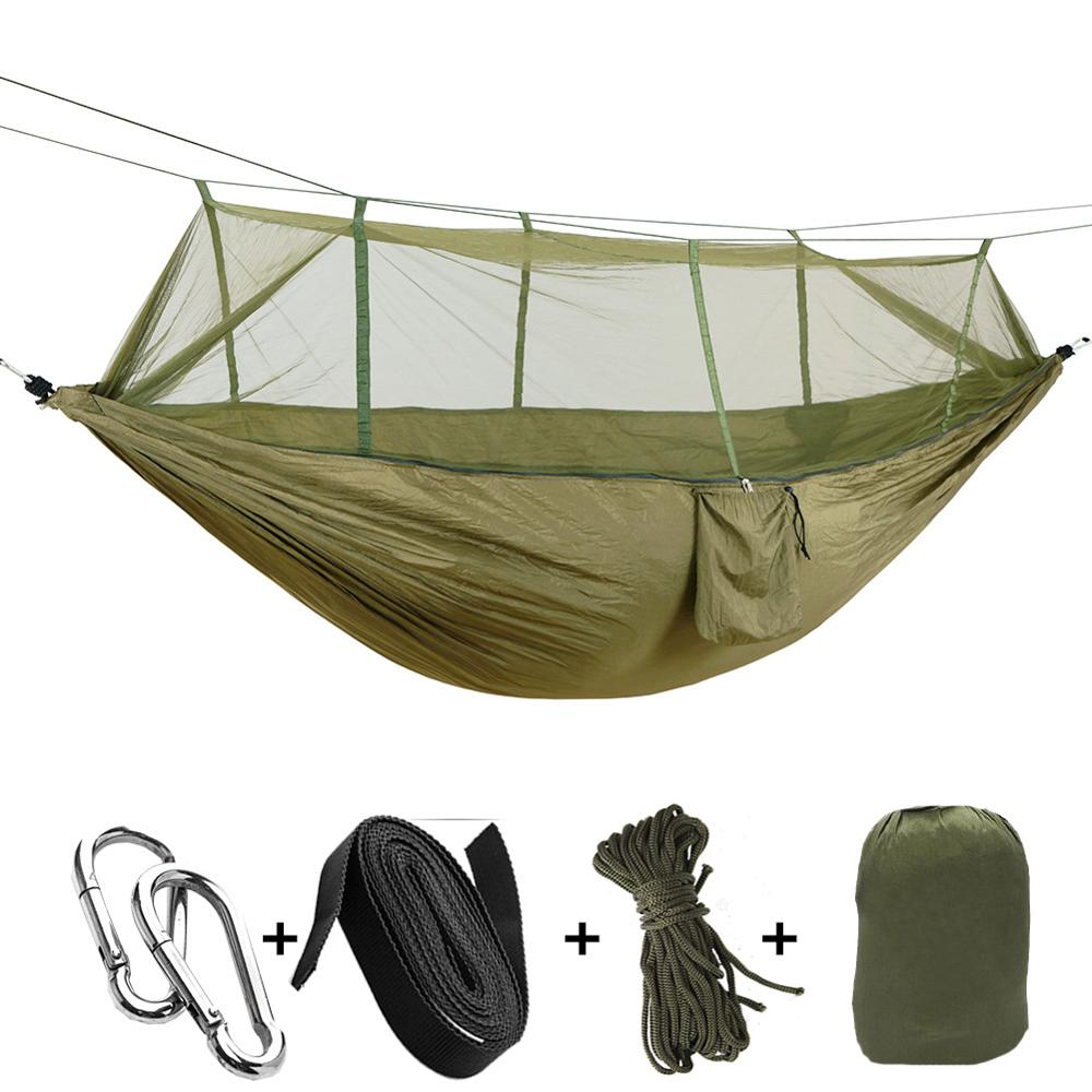 Sports & Entertainment Ultralight Portable Hammock Mosquito Net For Outdoor Nylon Material Anti-mosquito Nets With Super Size To Enjoy High Reputation At Home And Abroad Camping & Hiking