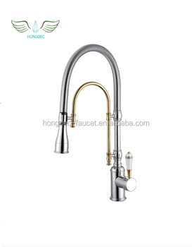 Commercial Style Pre Rinse Kitchen Faucet With Pot Filler Buy
