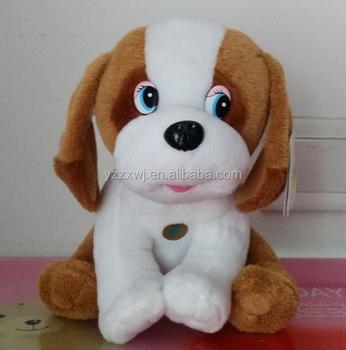 Plush Speak Dog Toys For Children Export Russia Stuffed Dog Toys