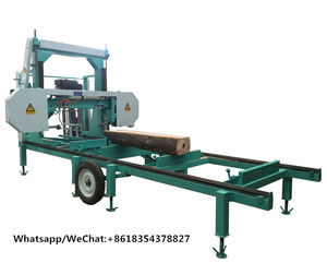 Diesel Power Portable Horizontal Band Saw Machine For Sale
