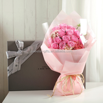 1530 Soap Flower Bouquet Lover Birthday Gift China Wholesale Merchandise