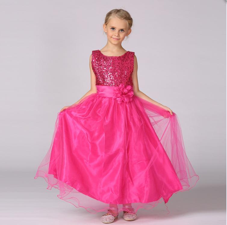 Venta al por mayor vestidos para niña anchos-Compre online los ...