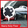 Hdpe temporary floor protection mats/construction road and work area matting
