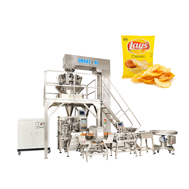 SMART WEIGH Small Potato Chips Packing Machine