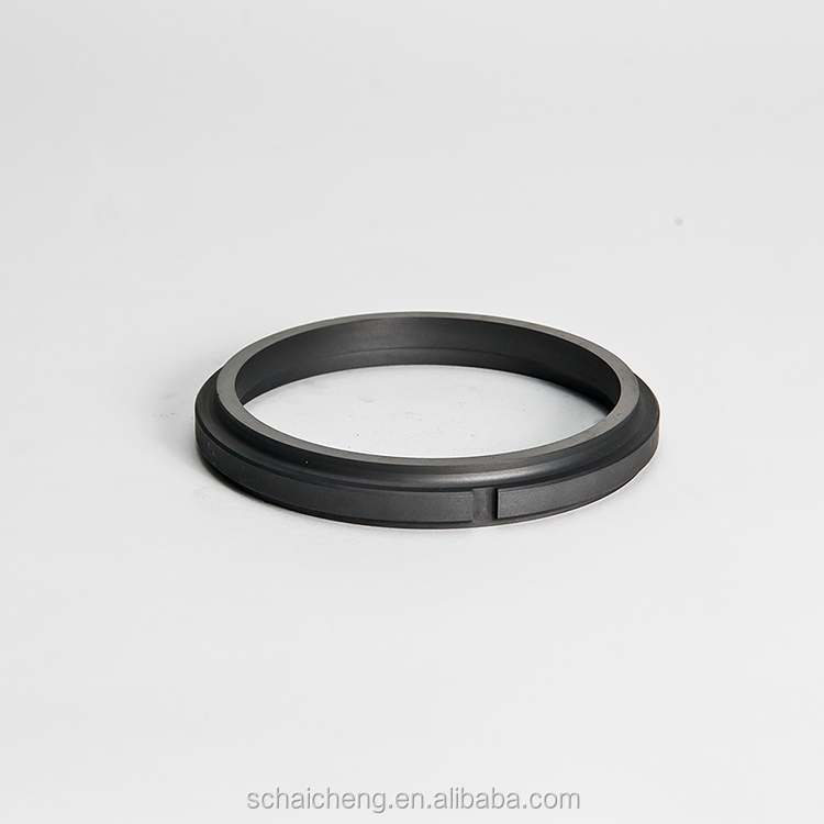 Tekening Glazige Carbon Graphite Ring Model