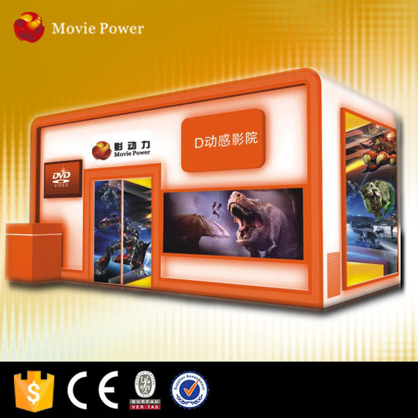 HD films/movies FREE! hot selling 5d cinema box cabin with special effects