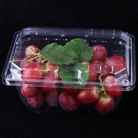 Wholesale Disposable Clamshell Plastic Blister Fruit Vegetable Packaging Box