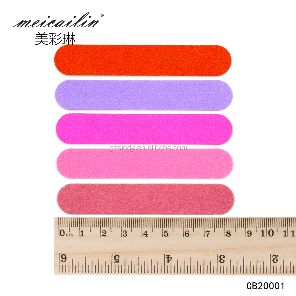 Meicailin 100pcs/lot Nail Files Wood Nail File Disposable Manicure Tools