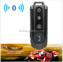 BT-S1 1000m Interphone Bluetooth Motorcycle Motorbike Helmet Intercom Headset FM Radio