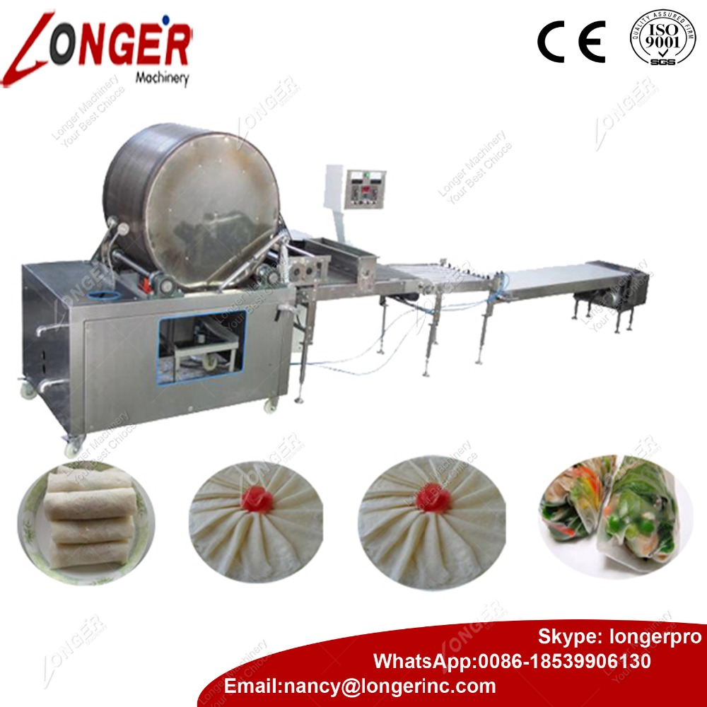 Automatic Crepe Machine Injera Making Machine
