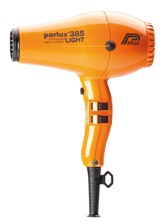 Parlux 385 Powerlight Professional Ionic and Ceramic Hair Dryer, 2150 Watts (ORANGE)